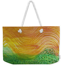 Sun And Grass In Harmony Weekender Tote Bag