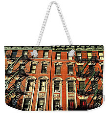 Sun And Shadow - The Rhythm Of New York Weekender Tote Bag