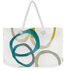 Sun And Sky- Abstract Art Weekender Tote Bag