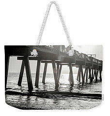Weekender Tote Bag featuring the photograph Sun Bathe by Eric Christopher Jackson
