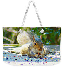 Sun Bathing Squirrel Weekender Tote Bag