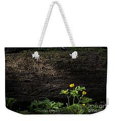 Sun Beam On Log Weekender Tote Bag