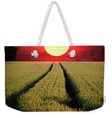 Sun Burn Weekender Tote Bag by Teemu Tretjakov