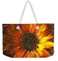 Weekender Tote Bag featuring the painting Sun Burst by Kevin Caudill