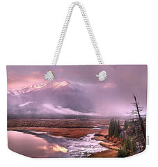 Weekender Tote Bag featuring the photograph Sun Dance by John Poon