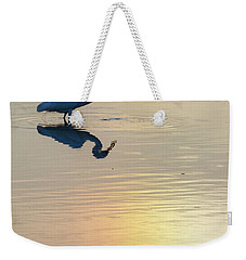 Sun Dog And Great Egret 3 Weekender Tote Bag