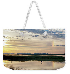 Sun Dog And Herons Weekender Tote Bag