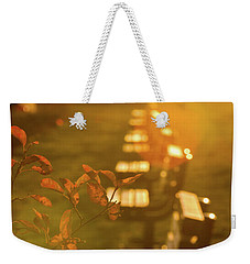 Sun Drenched Bench Weekender Tote Bag