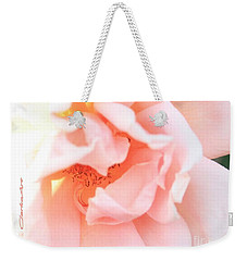 Sun-drenched Rose Weekender Tote Bag