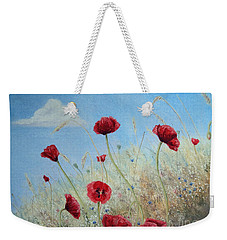 Sun Drenched Weekender Tote Bag by Stanza Widen