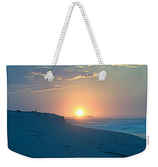 Weekender Tote Bag featuring the photograph Sun Dune by  Newwwman