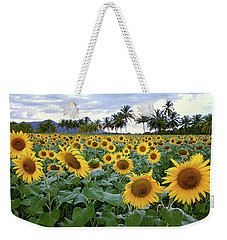 Sun Fields Weekender Tote Bag