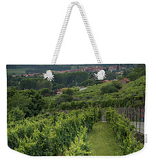 Sun Filtering Through The Clouds  Weekender Tote Bag