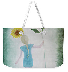 Sun Flower Dance Weekender Tote Bag by Tone Aanderaa