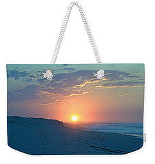 Weekender Tote Bag featuring the photograph Sun Glare by  Newwwman