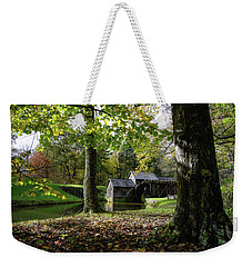 Sun Going Down At The Mill Weekender Tote Bag