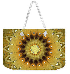 Sun Kaleidoscope Weekender Tote Bag by Wim Lanclus