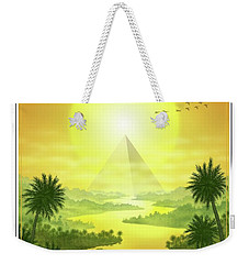 Sun King Weekender Tote Bag