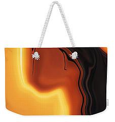 Weekender Tote Bag featuring the digital art Sun-kissed by Rabi Khan