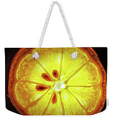 Sun Lemon Weekender Tote Bag