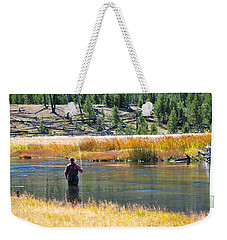 Sun Lights The Line Weekender Tote Bag by Eric Tressler