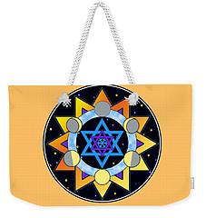 Sun, Moon, Stars Weekender Tote Bag