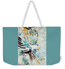 Sun Moon Water Sky Weekender Tote Bag