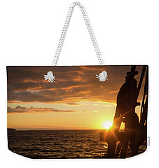 Sun On The Horizon Weekender Tote Bag