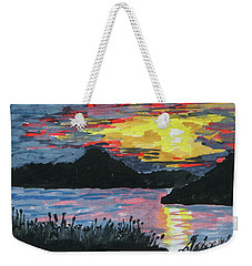 Sun Over The Water Weekender Tote Bag by R Kyllo