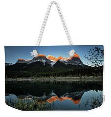 Sun Peaks Weekender Tote Bag