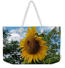 Weekender Tote Bag featuring the photograph Sun Power by Angela J Wright