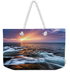 Sun Rays, Halibut Pt. Rockport Ma. Weekender Tote Bag