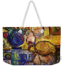 Sun Room Scanda Weekender Tote Bag
