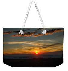 Sun Settling Into The Canyons Weekender Tote Bag