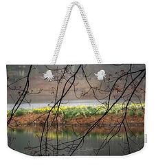 Weekender Tote Bag featuring the photograph Sun Shower by Bill Wakeley