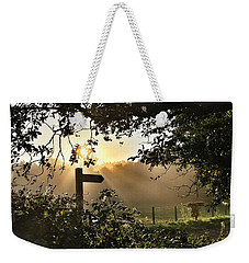 Sun Sign Weekender Tote Bag