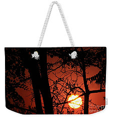 Sun Silhouettes Weekender Tote Bag by Angela J Wright