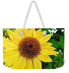 Sun Soaked Echinacea Weekender Tote Bag