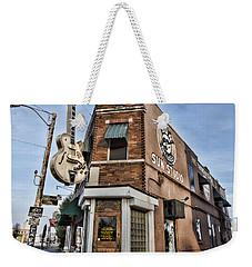 Sun Studio - Memphis #1 Weekender Tote Bag by Stephen Stookey