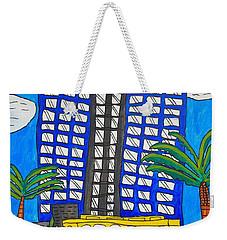 Sun Trolley Weekender Tote Bag by Brandon Drucker