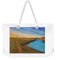 Sun Up Weekender Tote Bag