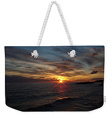 Weekender Tote Bag featuring the photograph Sun Up by Bonfire Photography
