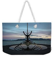 Sun Voyager At Dawn Weekender Tote Bag