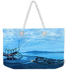 Sun Voyager Viking Ship In Iceland Weekender Tote Bag