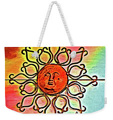 Sun Wall Decoration Weekender Tote Bag