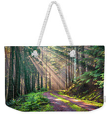 Sunbeams In Trees Weekender Tote Bag