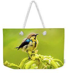 Sunbird Weekender Tote Bag