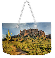 Sunbreak At Lost Dutchman Weekender Tote Bag