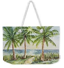 Sunburst Beach Morning Weekender Tote Bag