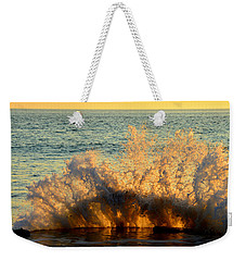 Sunburst Weekender Tote Bag by Dianne Cowen